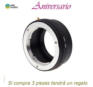 Md-nex Anillo Adaptador Para Lente Minolta Mc/md Para Sony N