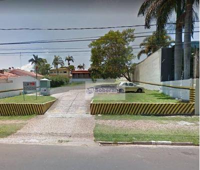 Terreno Para Alugar, 1000 M² - Taquaral - Campinas/sp - Te0552