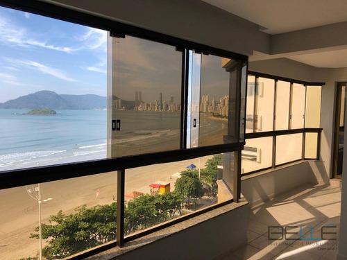 Apartamento Com 3 Dormitórios À Venda, 160 M² Por R$ 2.450.000,00 - Frente Mar - Balneário Camboriú/sc - Ap0090