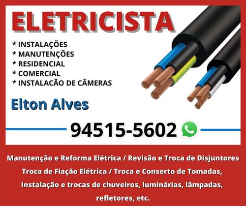 Imagem 1 de 5 de Eletricista Elton Alves