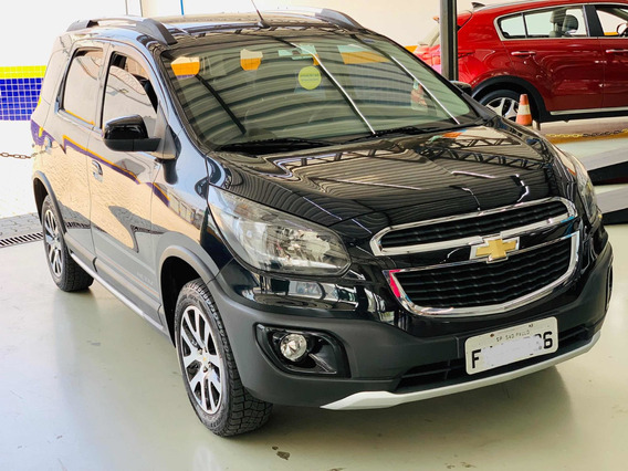 Chevrolet Spin 1.8 Activ 5l Aut. 5p 2016/2016 Couro, My Link