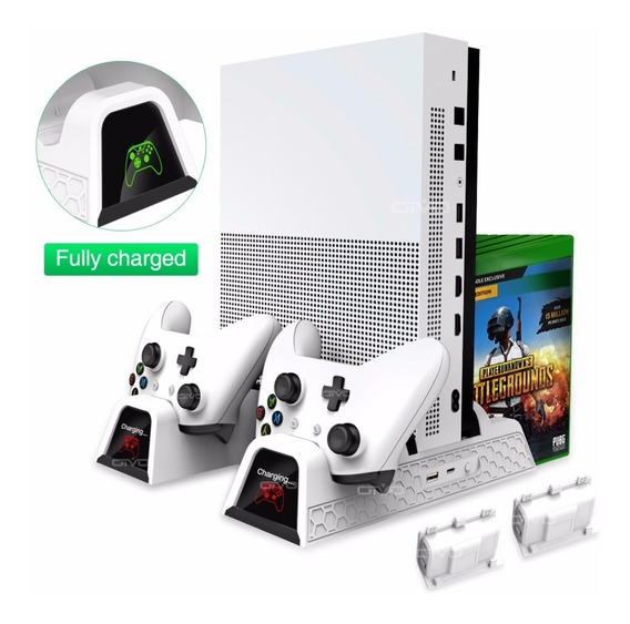 Base Vertical Xbox One/one S/x Cooler Dock Cabo Usb Black Xb