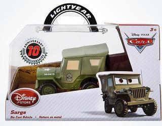 Carro Cars Sargento Metálico Disney Store