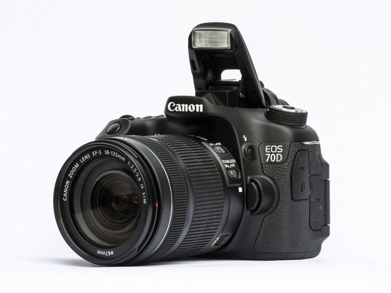 Canon Eos 70d + Lente 50mm + Tripé + Acessórios
