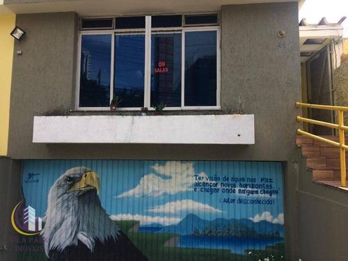 Imagem 1 de 13 de Sobrado Para Alugar, 200 M² Por R$ 4.500,00/mês - Vila Campesina - Osasco/sp - So0583