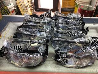 Anteojo Transparente X 12u Patilla Regulable Steelpro Nitro