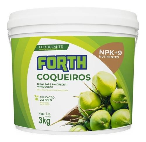 Imagem 1 de 1 de Adubo Fertilizante Forth Coqueiros - 3kg