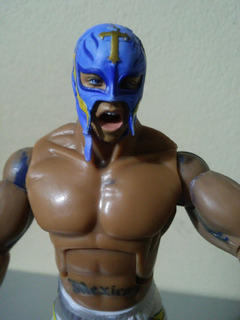 Raw, Wwe, Wcw, Rey Misterio Jakks Pacific Custom