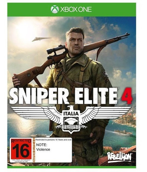 Sniper Elite 4 - Xbox One - Mídia Digital - Original