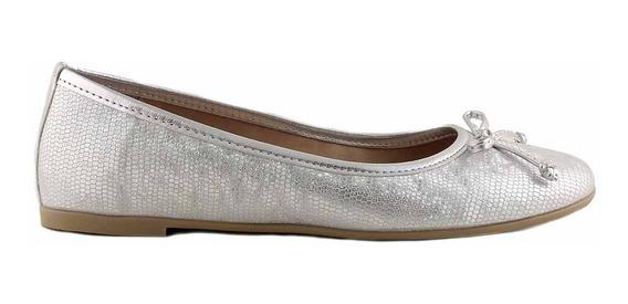 Chatita Cuero Mujer Briganti Zapato Mocasin Mccha2943 Pt