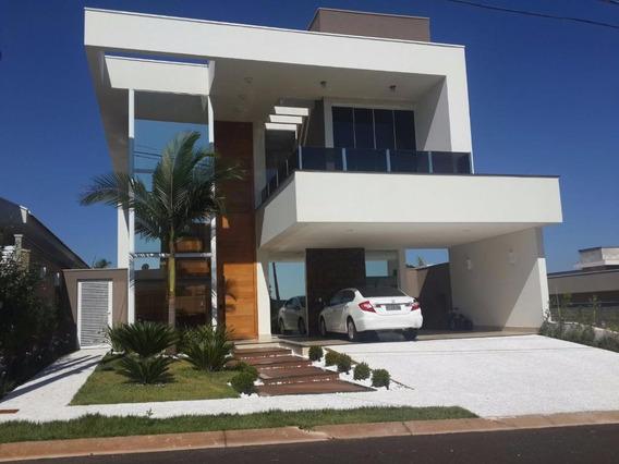 Casa Residencial À Venda, Parque Residencial Damha Vi, São José Do Rio Preto. - Ca4594