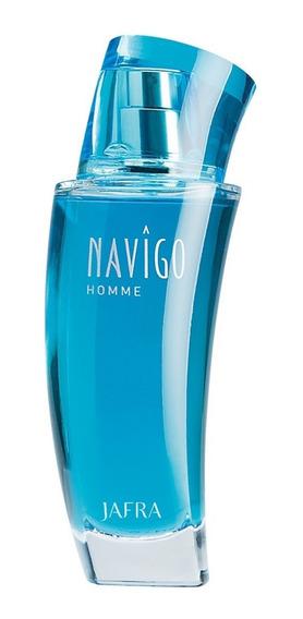Perfume Masculino Importado Navigo Homme Jafra Promoção