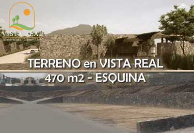 Oportunidad! Terreno De 470m2 En Vista Real Country Club, Ganelo!