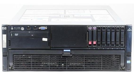 Servidor Hp Proliant Dl580 G5 Xeon - 32gb Ram 500gb