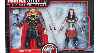 Iron Spider - Venom - Thor -loky - Lady Sif Marvel Legends