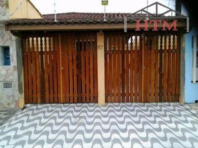 Casa Para Alugar No Bairro Belas Artes Em Itanhaém - Sp. - Ita067