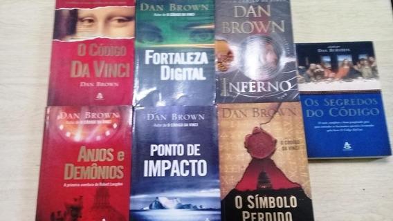 Dan Brown - Coleção 7 Livros -código Da Vinci