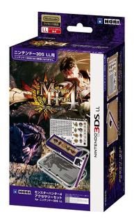 Monster Hunter 4 Juego De Accesorios Para Nintendo 3ds Ll