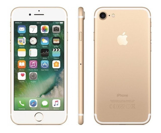 iPhone 7 Dourado Tela 4,7 4g 32 Gb Câm 12 Mp Novo Lacrado