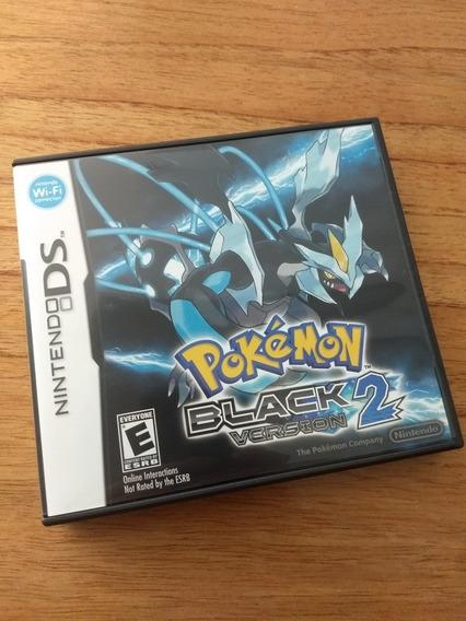 Pokémon Black Version 2 - Nintendo Ds - Em Excelente Estado