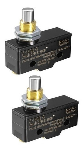 Micro Switch Z-15gq-b Pulsador Alto
