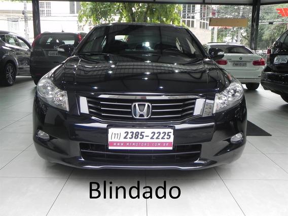 Honda Accord 3.5 Ex V6 24v Gasolina 4p Automático