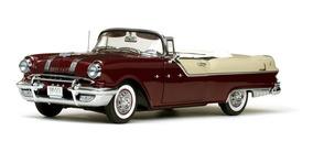 Pontiac Star Chief 1955 Conversível 1:18 Sunstar Platinum