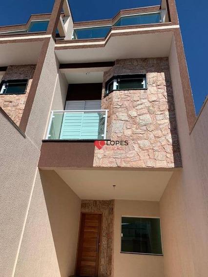 Sobrado Com 3 Dormitórios À Venda, 100 M² Por R$ 540.000,00 - Cidade Patriarca - São Paulo/sp - So0401