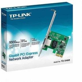 Placa De Rede Pci-e 10/100/1000 Tg-3468 Tp Link