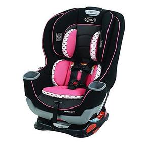 Car Seat Cadeirinha Graco Extend2fit Kenzie Rosa