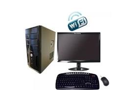 Computador E Monitor Lcd 19