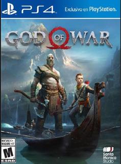 God Of War - Ps4 (juego Fisico)