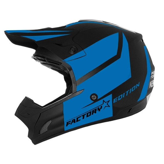 Capacete Cross Th1 Factory Edition Neon Tam. 58
