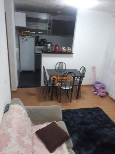Imagem 1 de 27 de Apartamento Com 2 Dormitórios À Venda, 47 M² Por R$ 205.640,00 - Água Chata - Guarulhos/sp - Ap3140