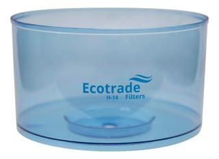 Tanque Superior Para Filtro Purificador Agua Ecotrade 14 Lt.