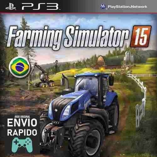 Farming Simulator 15 - Jogos Ps3 Original