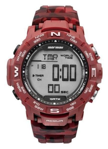 Relógio Masculino Mormaii Digital Vermelho Mo1173a/8r