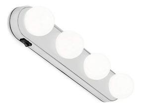 Arandela Luminária P/ Espelhos Camarim E Banheiro