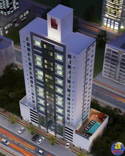 Imagem 1 de 10 de Apartamento 2 Suítes + 2 Demi-suítes, 2 Vagas De Garagem No Centro Em Balneário Camboriú/sc - Imobiliária África - Ap00541 - 69817273