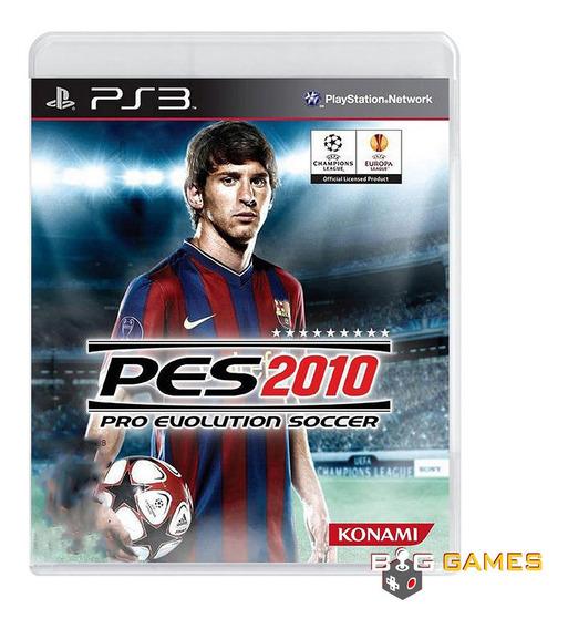 Pro Evolution Soccer 2010 - Ps3 - Midia Fisica