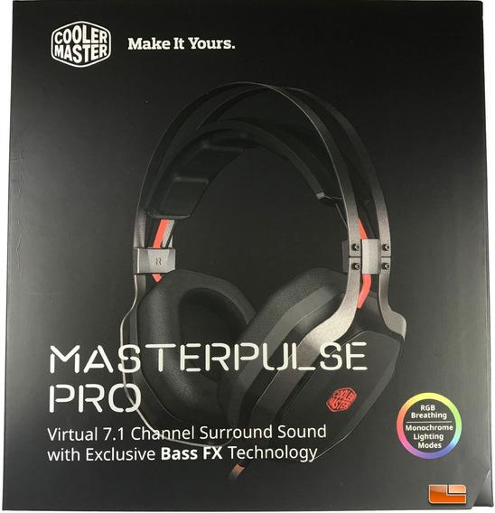 Headset Cooler Master Gamer 7.1 Master Pulse Pro Sgh-8700-kk