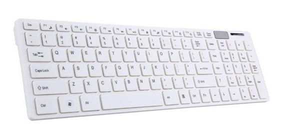 Teclado + Mouse Sem Fio 2.4ghz Pc Notebook Macbook Apple
