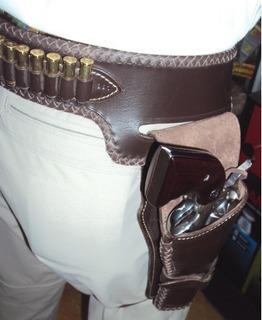 Funda Para Revolver Y Porta Balas 38