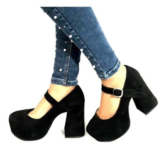 Sam123 Zapatos Stilettos Gamuza Talles Grandes Guilles