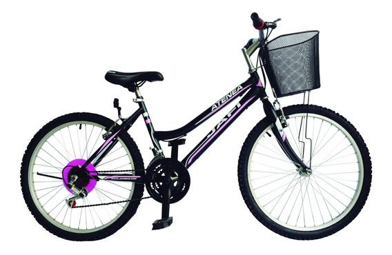 Bicicleta Jafi Montañera Atenea 18v Para Mujer Aro 24