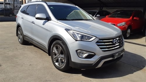 Hyundai Santa Fe 3filas En Piel