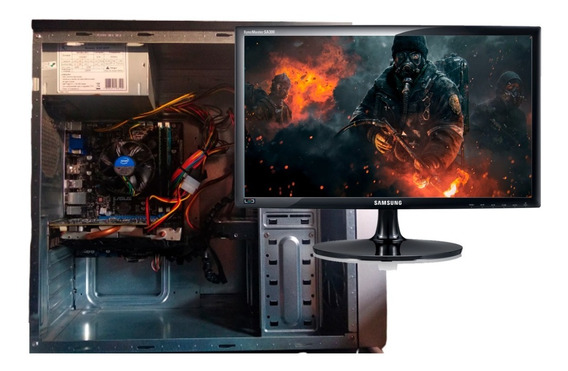 Pc Gamer Com Monitor 22 Pol - I5 + 8gb Ram - Gtx 750ti + 1tb