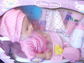 Muñeca Sonido Baby Tina Otros Juguetes Navida 2207v Navideño