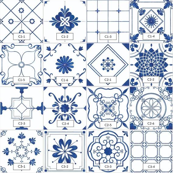 Azulejos Autoadhesivos Vinilo Decorativo Pack 12 Baño Cocina