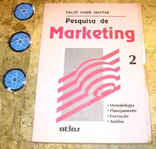 Livro Pesquisa Marketing Volume 2 - Fauze N Mattar (1993)